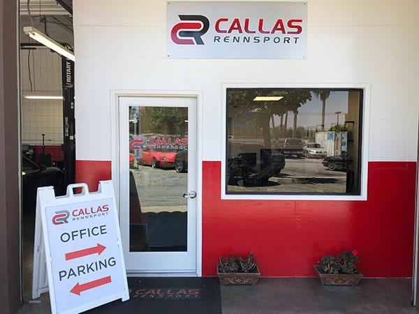 Front Office of Callas Rennsport