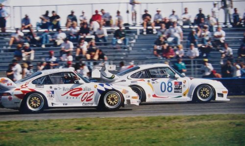 Reiser-Callas Rennsport RSR at Daytona 24hr 1999 (2nd place finish)