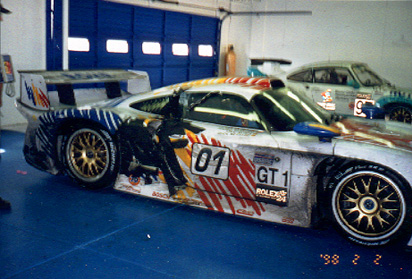 Rohr-Porsche Motorsport Daytona 24hr, 1998 Winner (Post Race)