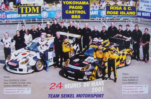 Seikel Motorsport (Germany) LeMans Winner 2001