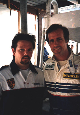 Tony Callas & Danny Sullivan at The 24hrs of Daytona (Rohr Motorsport)